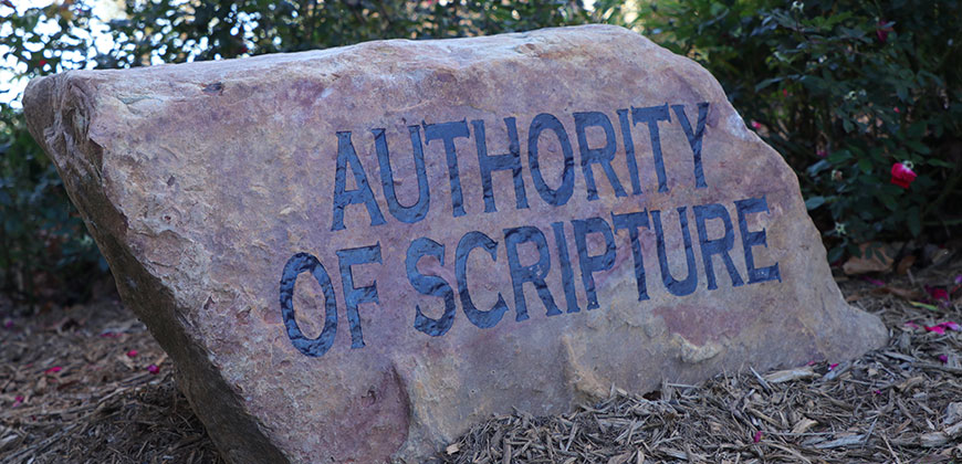 The core value of the Authority of Scripture is the basis for CIU's other core values.