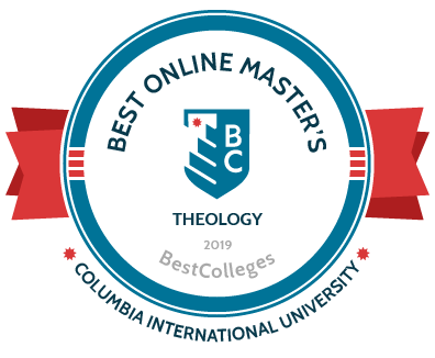 2019 Best Online Master's in Theological Studies by BestColleges.com