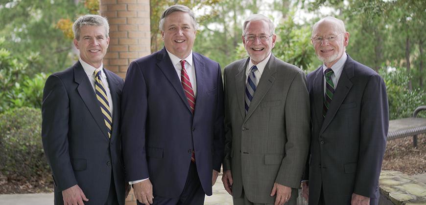The four living presidents of Columbia International University