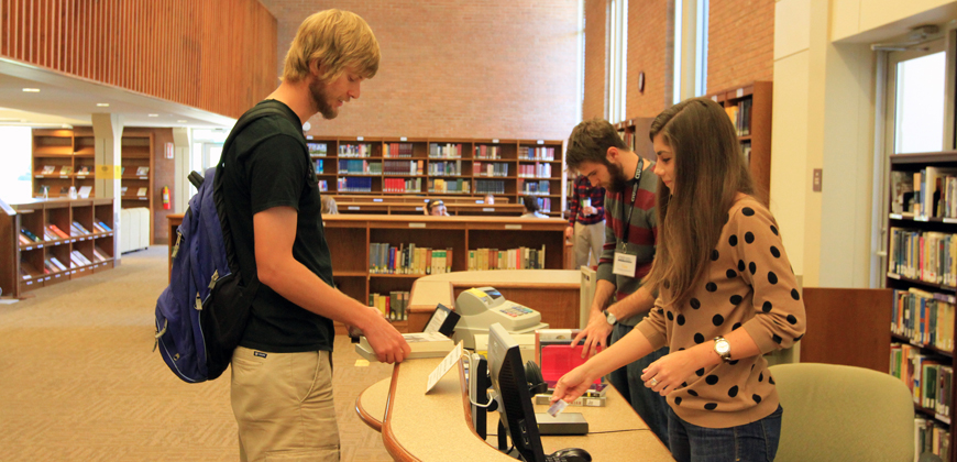 Some CIU students fund a portion of their educational expenses by working a part-time job.