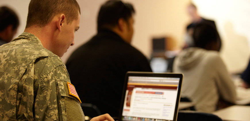 CIU classes are open to soldiers and veterans.