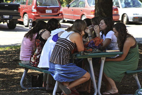 CIU students gather on World Christian Week Prayer Day