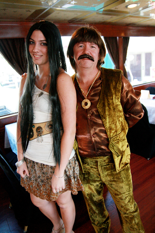 The Beat Goes On! Sonny & Cher made an appearance.