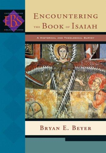 Encountering the Book of Isaiah cover