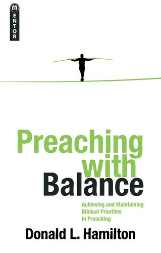 Preaching with Balance cover
