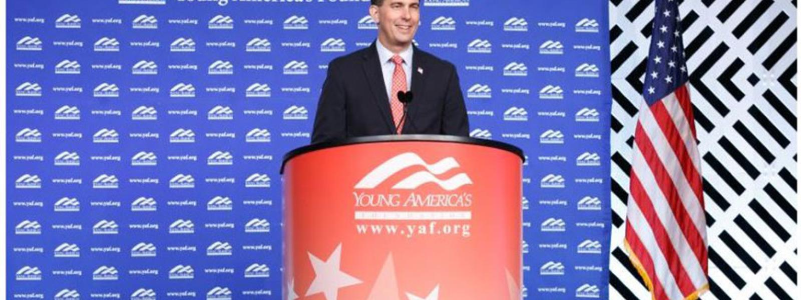 Former Wisconsin Governor Scott Walker will deliver the commencement address to the CIU Class of 2021. (Source: Young America's Foundation)