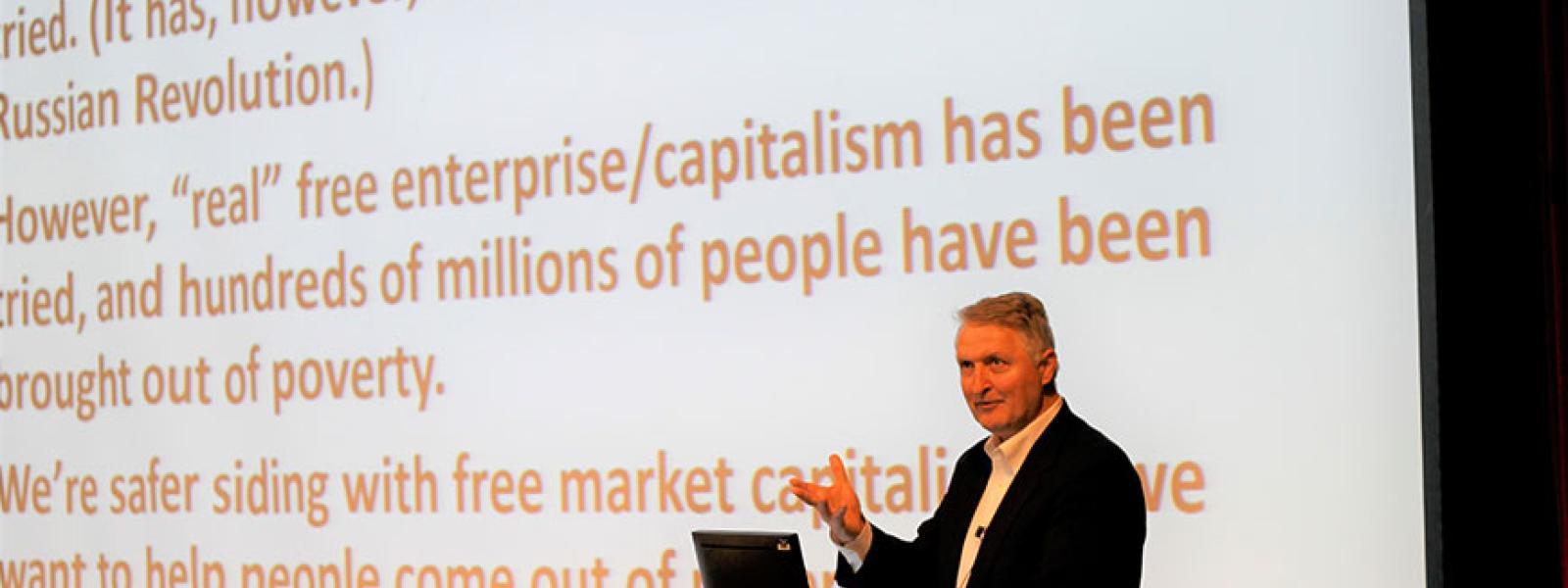"CIU alumnus Dr. Paul Copan lectures on ""Roots and Fruits of Progressivism"""