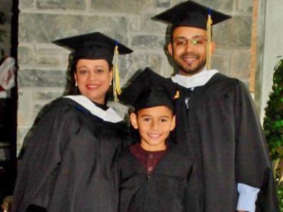 The de Oliveira family.