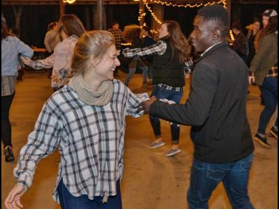 Dancing at the CIU Hoedown
