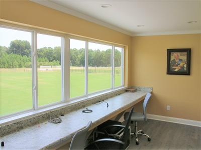 CIU soccer field press box