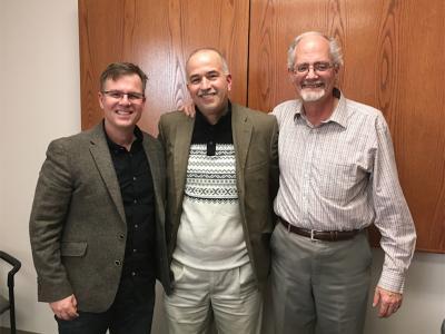 Ed Smither, Victor Cuartas, David Cashin