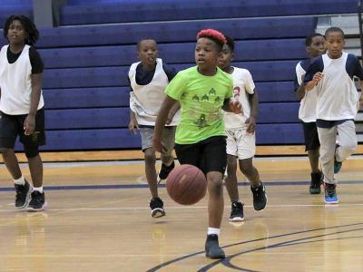 CIU Hoop for Hope basketball camp.