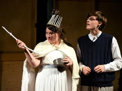 "CIU Thespians present ""The Lion, The Witch and the Wardrobe"""