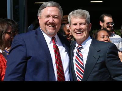 CIU President Dr. Mark Smith and CIU Chancellor Dr. Bill Jones