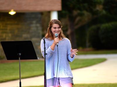 CIU soccer standout Rebekah Reinhard shares her testimony.