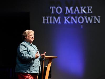 Susie Shellenberger speaks at CIU