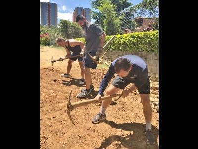 CIU Rams men's soccer team on missions trip in Colombia