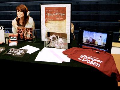 CIU senior Allyson Sutton displays her passion for theatre.